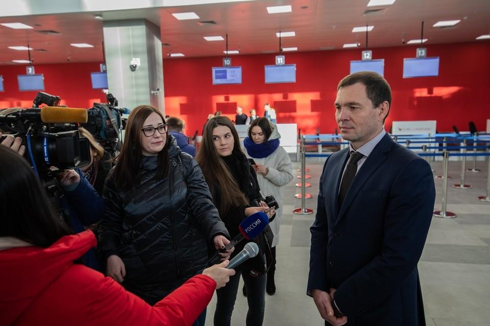 Андрей Осипов стал директором челябинского аэропорта в ноябре 2019 года и вскоре презентовал новое здание