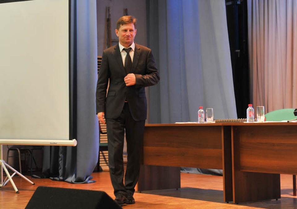 Сергей Фургал назвал «психологической пыткой» запрет на переписку с родными