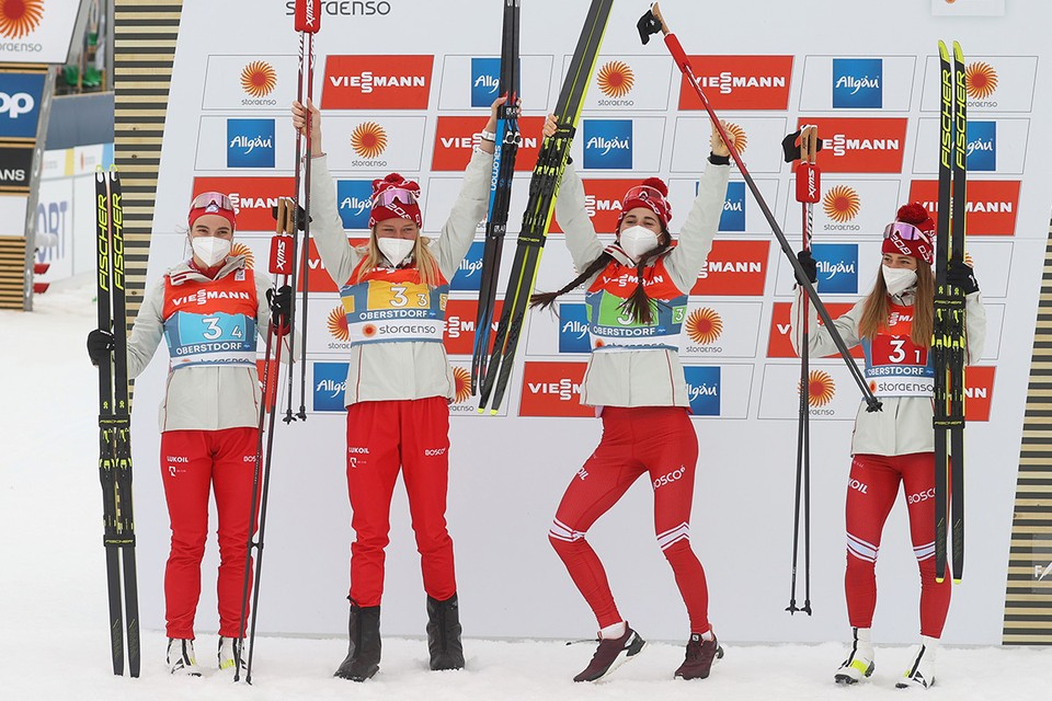 «Эмоции захлестнули»: Российские лыжницы выиграли «серебро» ЧМ в эстафете