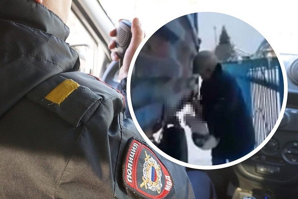 После того, как ролик, на котором пенсионерка душит кота, попал в соцсеть, им заинтересовались полицейские. Фото: стоп-кадр/Светлана МАКОВЕЕВА.