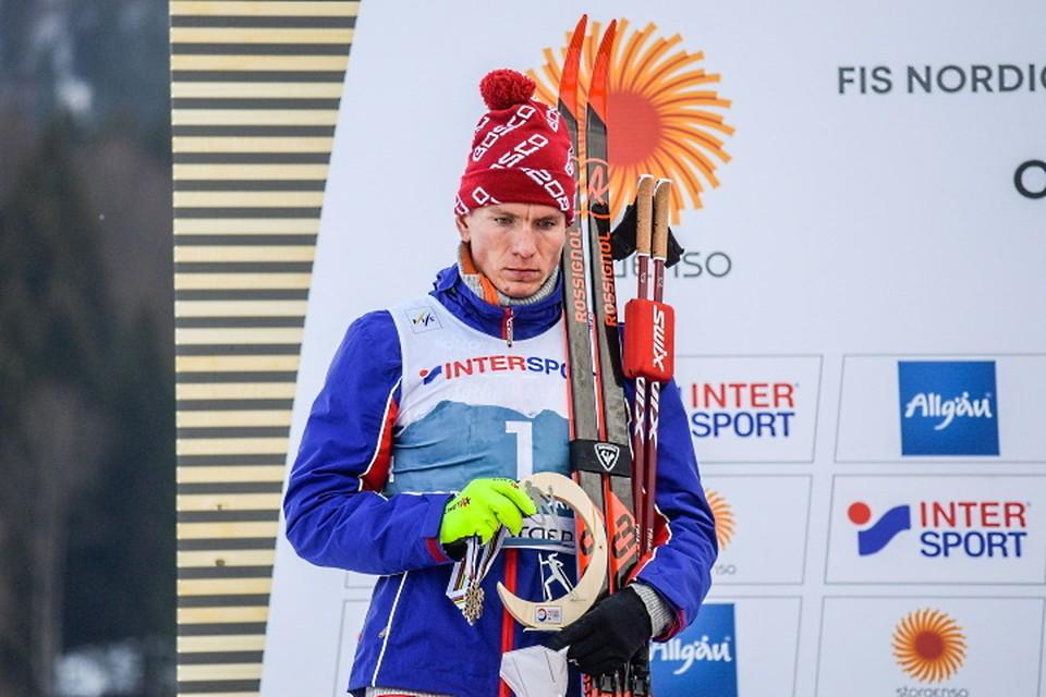 Александр Большунов остался с серебром на чемпионате мира-2021.