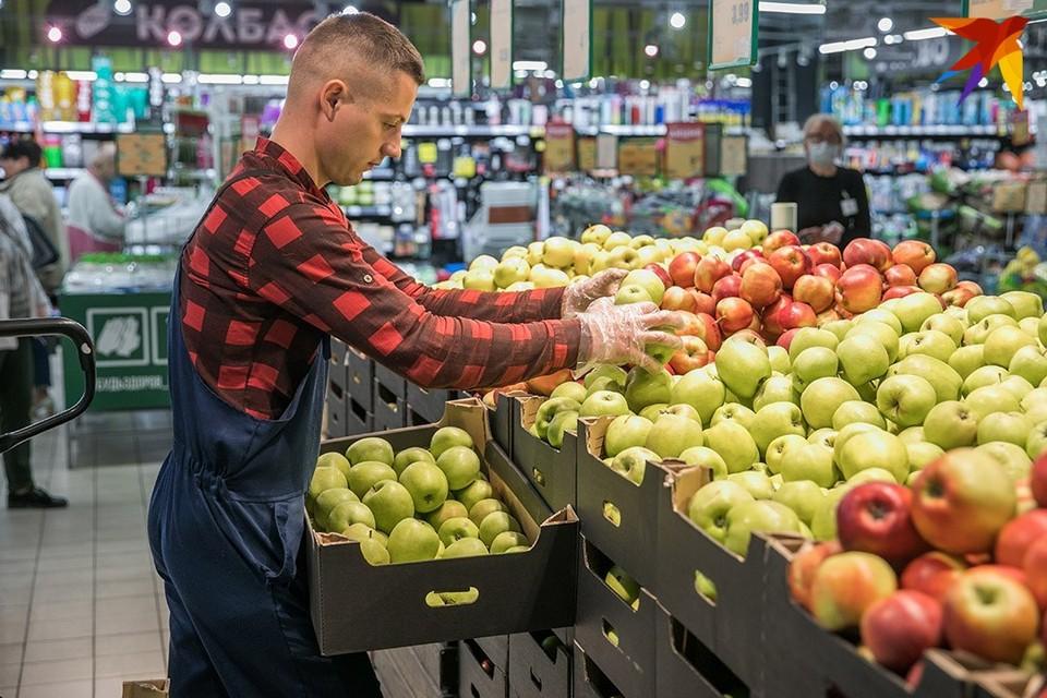 По документам яблоки были брестскими, а по маркировке - польскими.