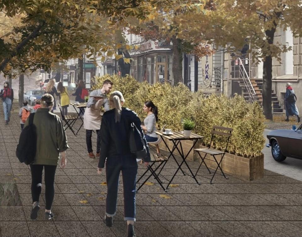 Семь улиц в центре города хотят сделать пешеходными. Фото: Администрация Краснодара