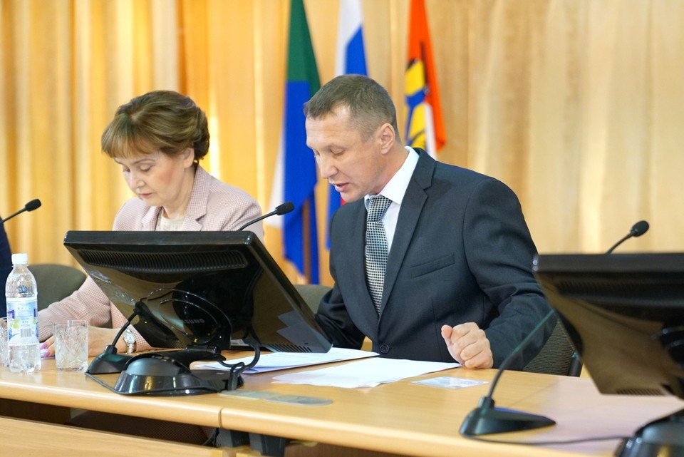 За смещение Михаила Сидорова с поста председателя гордумы проголосовало большинство депутатов