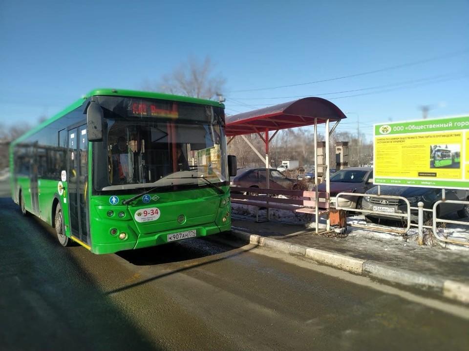 Новые автобусы уже вышли на линию. Фото: пресс-служба администрации Челябинска
