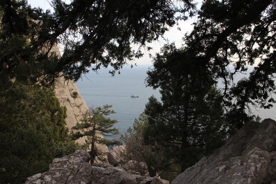 На ЮБК для отличного отдыха есть горы и море.