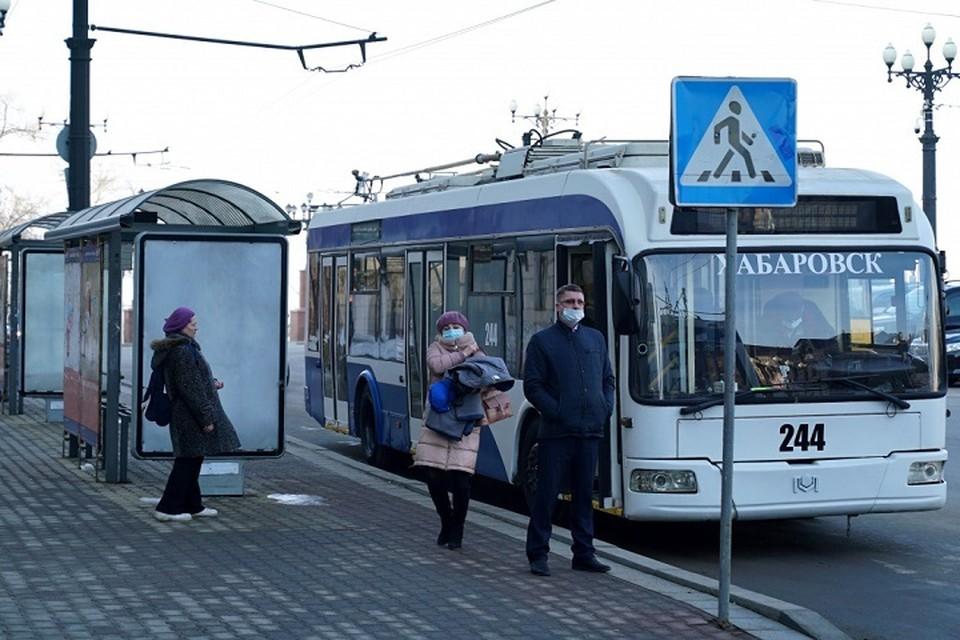Еще три подаренных троллейбуса привезли в Хабаровск из Москвы