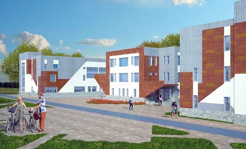 Власти Кузбасса рассказали о ходе строительства новой школы на 1000 учеников. Фото: Сергей Цивилев/ vk.com