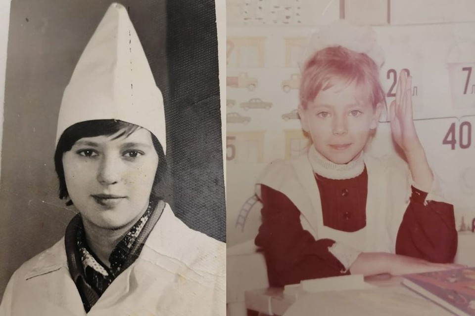 На фото: мама сестер Любовь Алексеевна и семилетняя Маргарита. Фото: личный архив