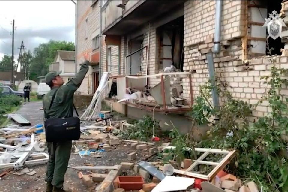 В результате взрыва погибли двое человек. Фото: kirov.sledcom.ru