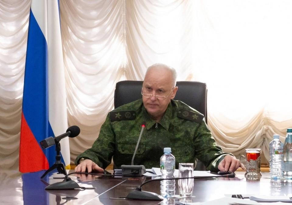 Информационный центр создается по инициативе Александра Бастрыкина. Фото: СУ СК России по Омской области