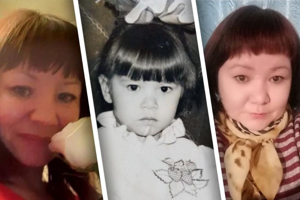 Виолетта (на фото справа) очень похожа на свою сестру Гулю (слева), и их постоянно путали сельчане. Фото: личный архив.