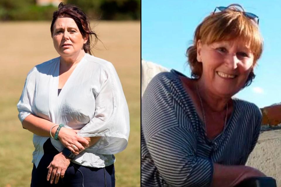 Лихейн Серджисон (слева) флиртовала в соцсетях с убийцей своей тети