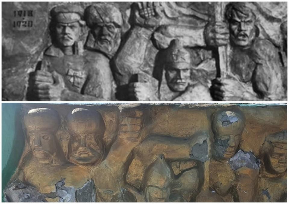 Судя по состоянию памятника, ремонт был сделан давно. Фото: [ТК] ТИПИЧНЫЙ КАТАЙСК/vk.com