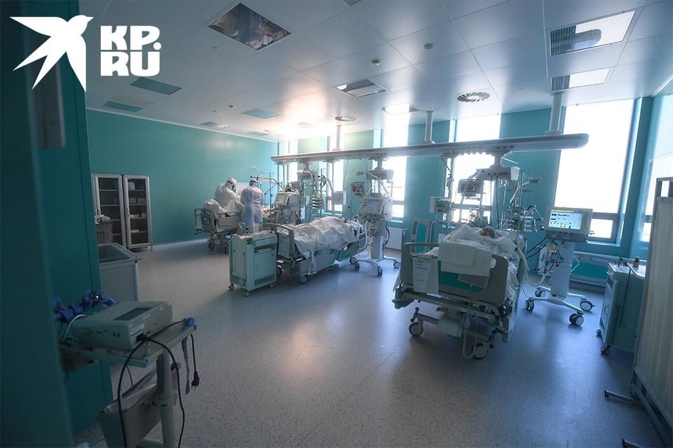 В реанимации находятся более 80 пациентов.