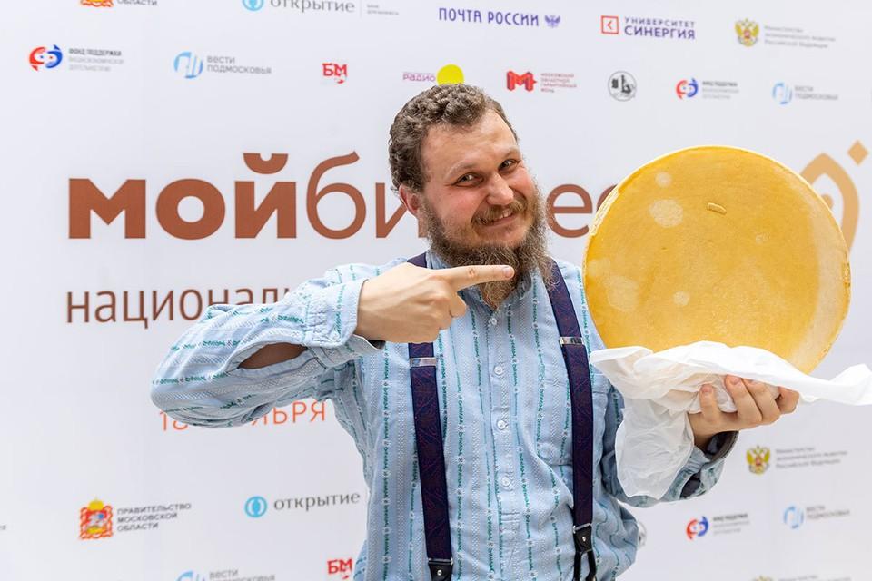 Сыровар Олег Сирота после контрсанкций получил шанс конкурировать на равных с Европой