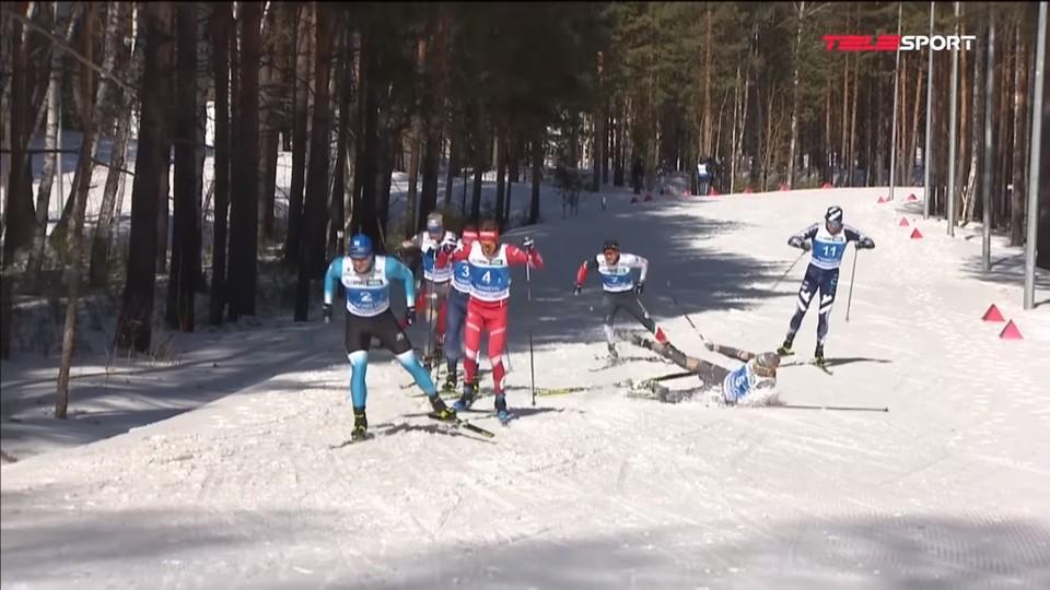 Лыжник из Удмуртии устроил драку на финише чемпионата мира
