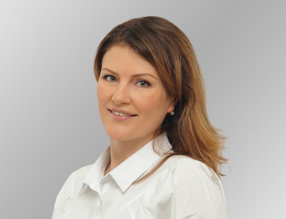Кандидат от партии «Ак Бата» Ирина Аллафердова.