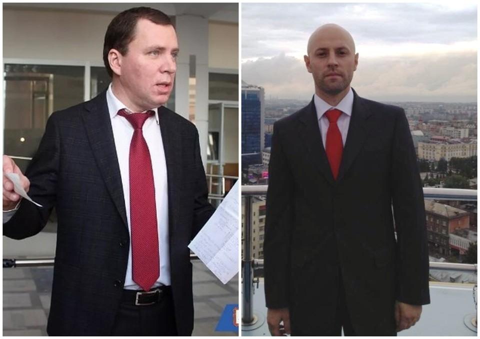 Юлий Элбакидзе (слева) стал министром строительства, Максим Соколов — министром спорта. Фото: Фото: администрация Магнитогорска, соцсети