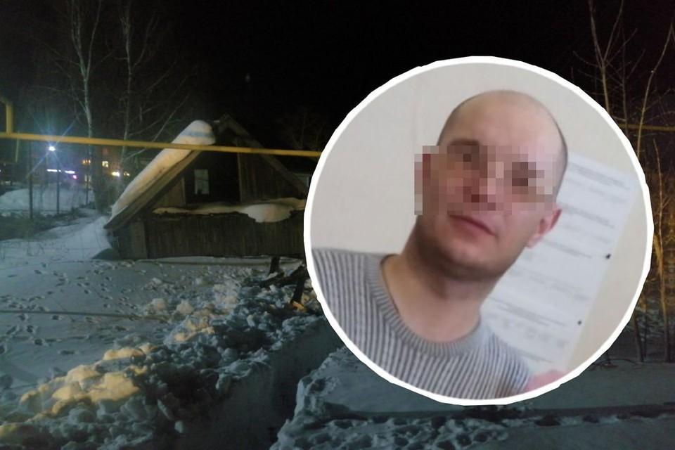 На территории этого дома нашли тело мужчины. Фото: Анна ПАШАГИНА/соцсети