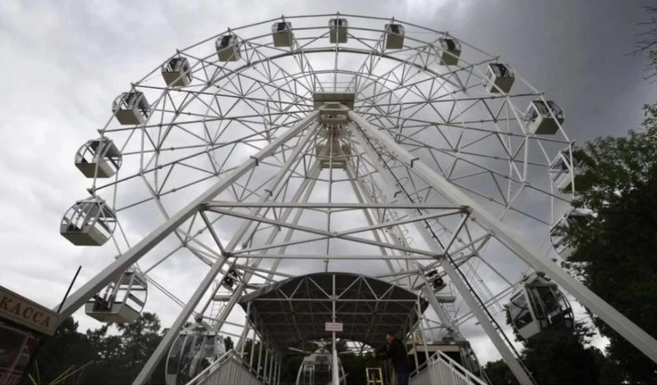 Новое колесо обозрения появится в Омске на Зеленом острове.
