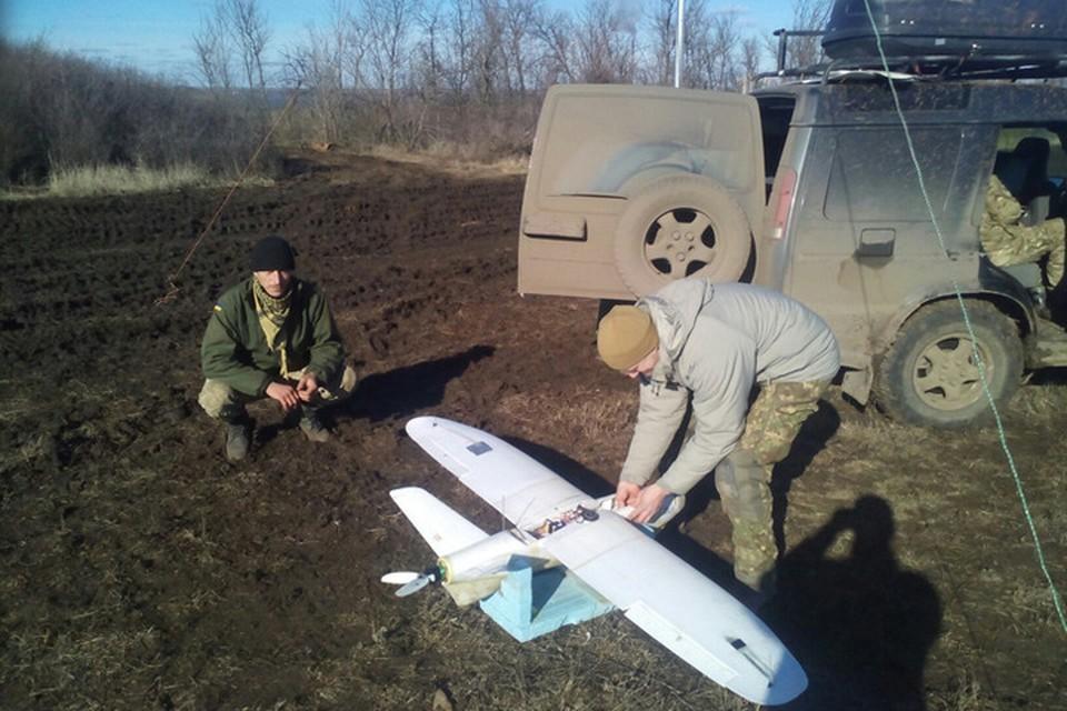 Украинские военные применили беспилотник, снаряженный самодельным взрывным устройством. Фото: МОУ