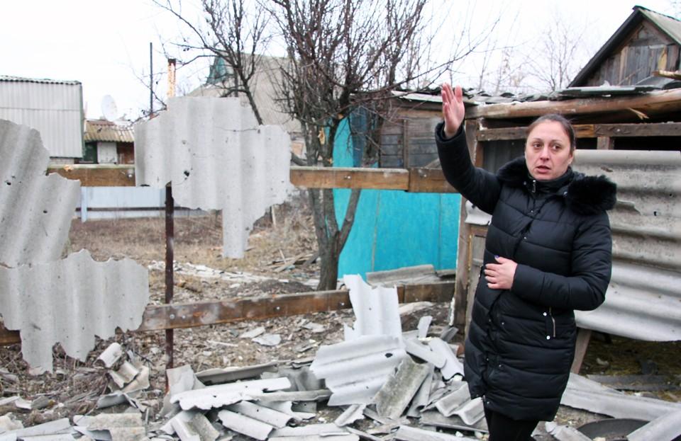 Украинские военные продолжают обстреливать Донбасс, гибнут мирные жители. Фото: Валентин Спринчак/ТАСС