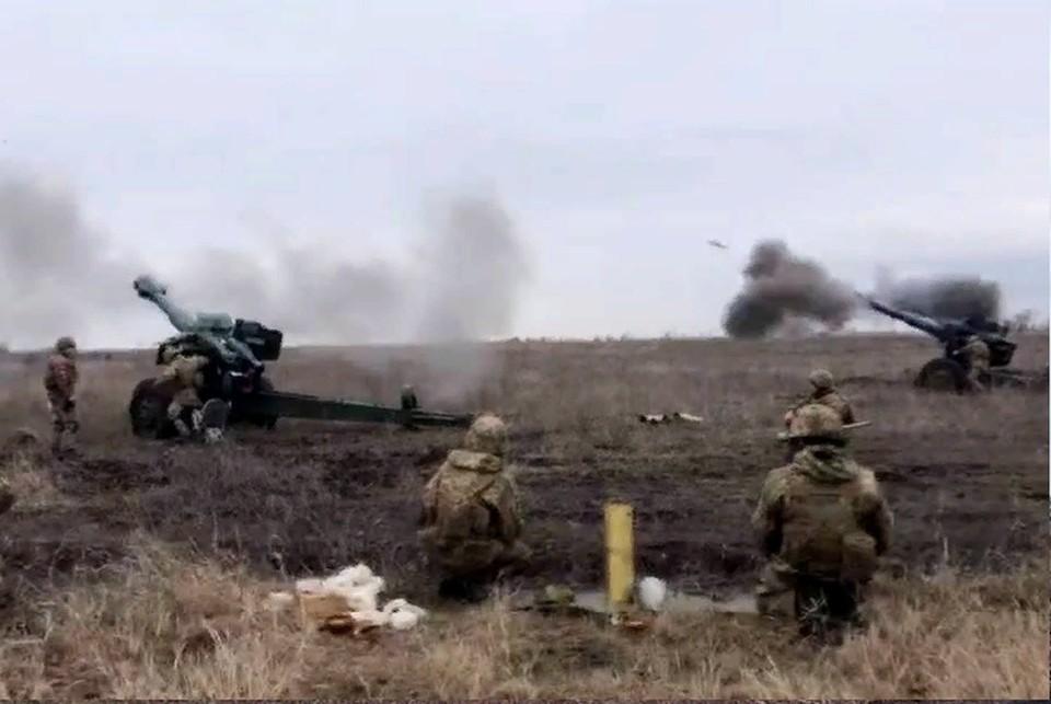 Украинские военные увеличили интенсивность огневых провокаций из запрещенного минскими соглашениями вооружения. Фото: штаб «ООС»