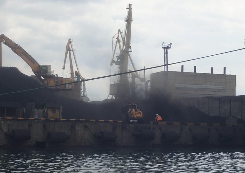 Новороссийский порт. Фото: Росприроднадзор
