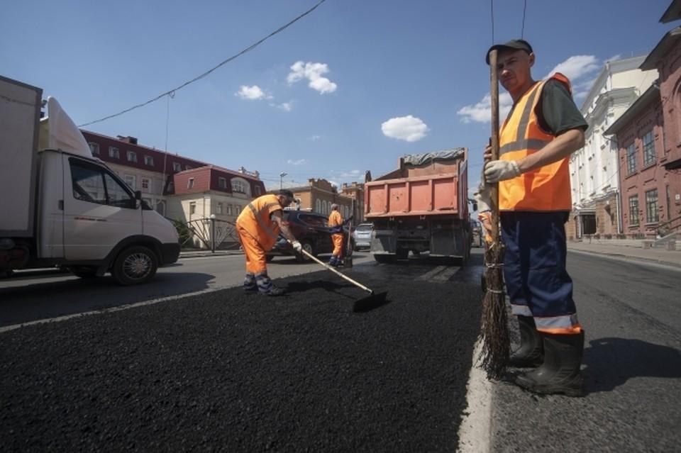 Протяженность нового тротуара в Юбилейном микрорайоне составила 130 метров, а ширина - 1,7 метров