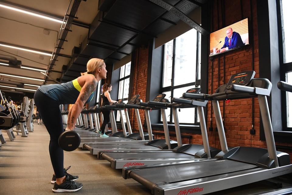 Путин подписал закон о налоговом вычете за фитнес