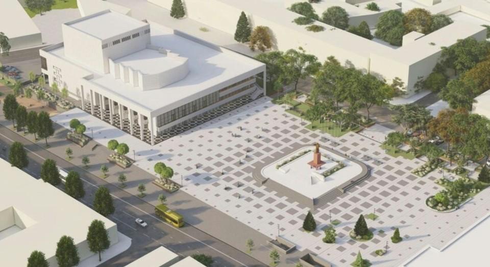 Самую масштабную реконструкцию проведут на площади Ленина. Фото: Пресс-служба администрации Севастополя