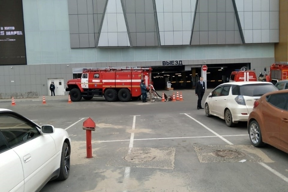 Пожару в «Броско Молле» был присвоен повышенный номер