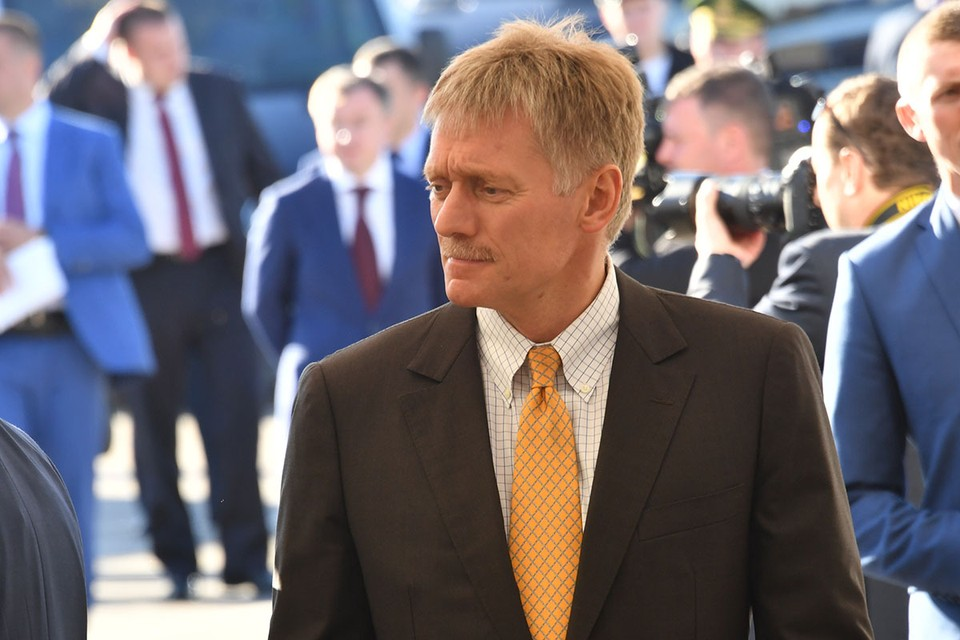 Пресс-секретарь президента ответил на вопросы обозревателя KP.RU Александра Гамова