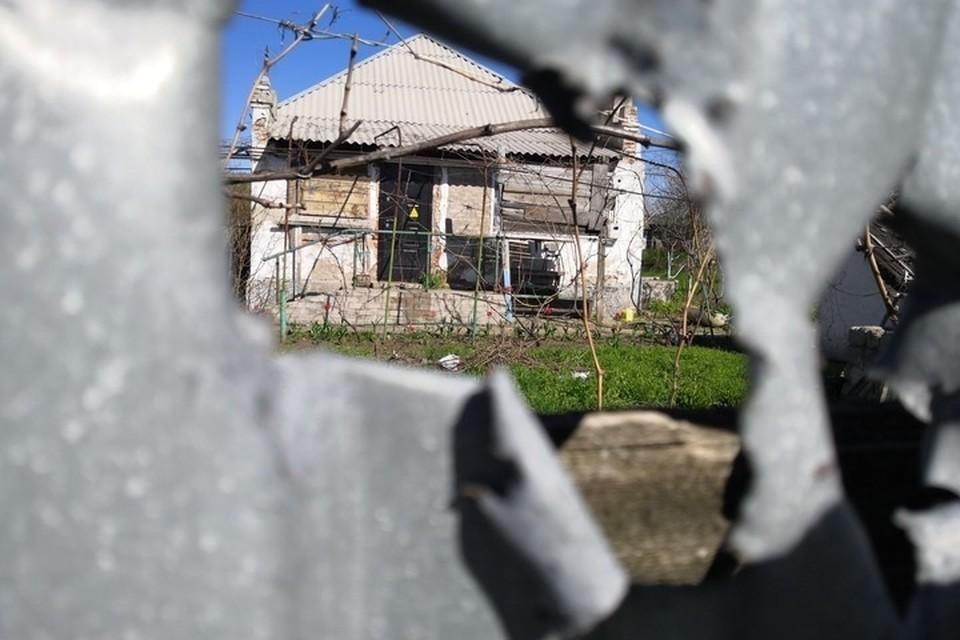Мирная жительница получила ранения во работы на приусадебном участке