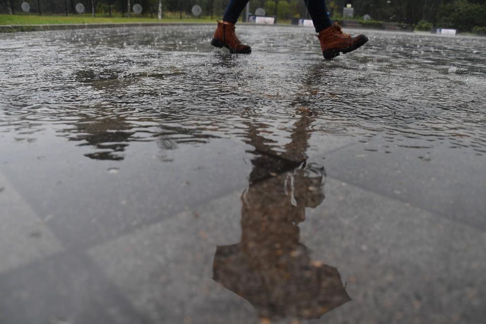 Днем временами дожди, местами сильные.