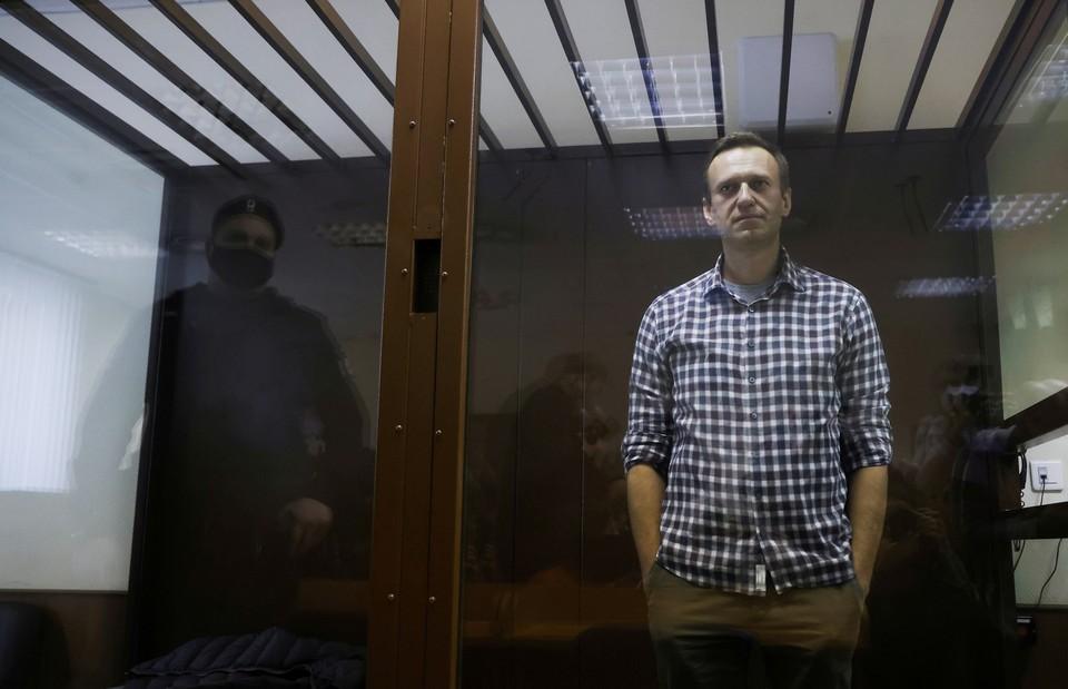 Алексей Навальный отбывает срок в колонии №2