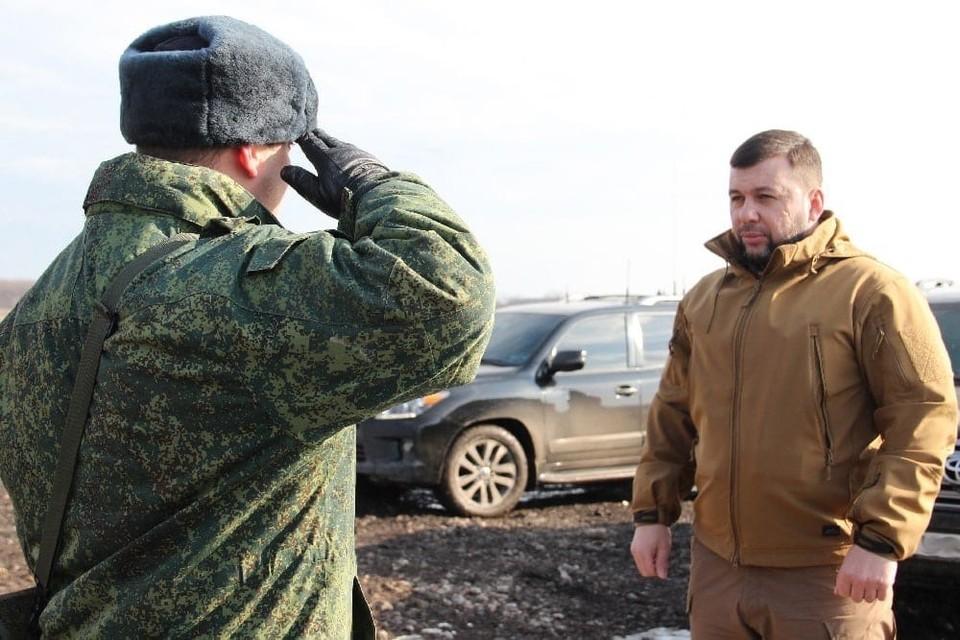 В Донецке проходит пресс-конференция Главы ДНР. Фото: сайт Главы ДНР