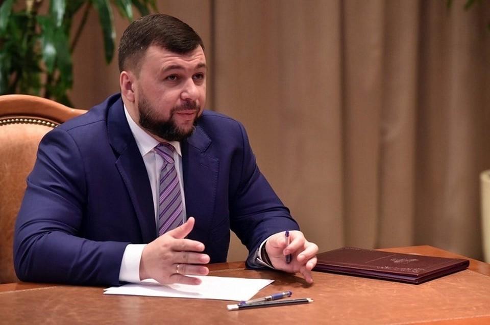 Программа восстановления и развития ДНР в этом году будет достаточно объемной. Фото: сайт Главы ДНР
