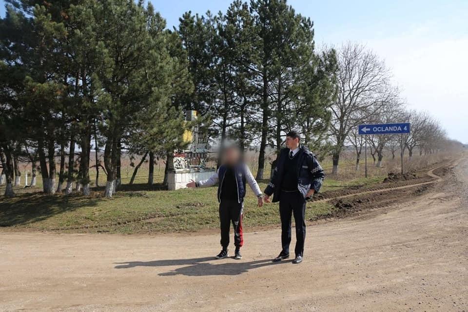Задержанные полностью признали свою вину (Фото: инспекторат полиции Сорокского района).
