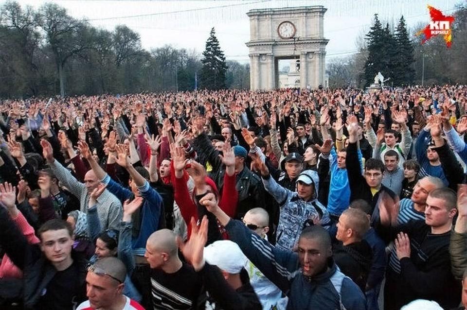Таким оно было - 7 апреля 2009 года в Молдове