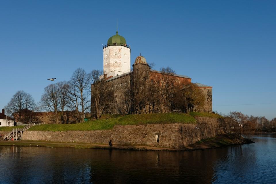 Загадочное помещение нашли в Выборгском замке при реставрации