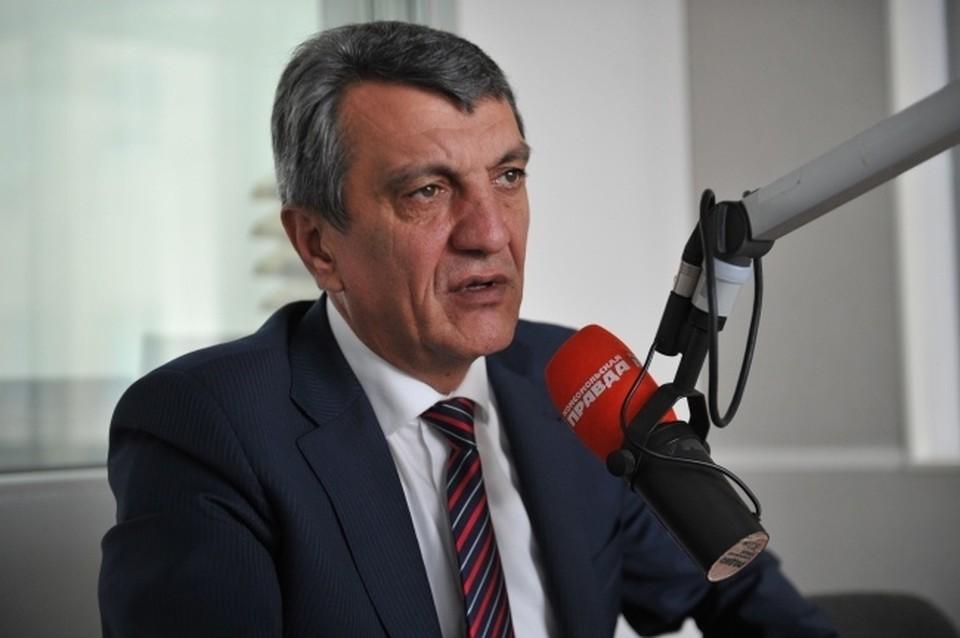 Сергей Меняйло покидает пост полномочного представителя президента России в СФО.
