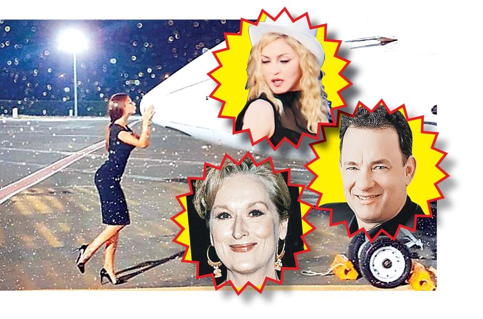 Елена Черноуцан летает вместе с мировыми знаменитостями.