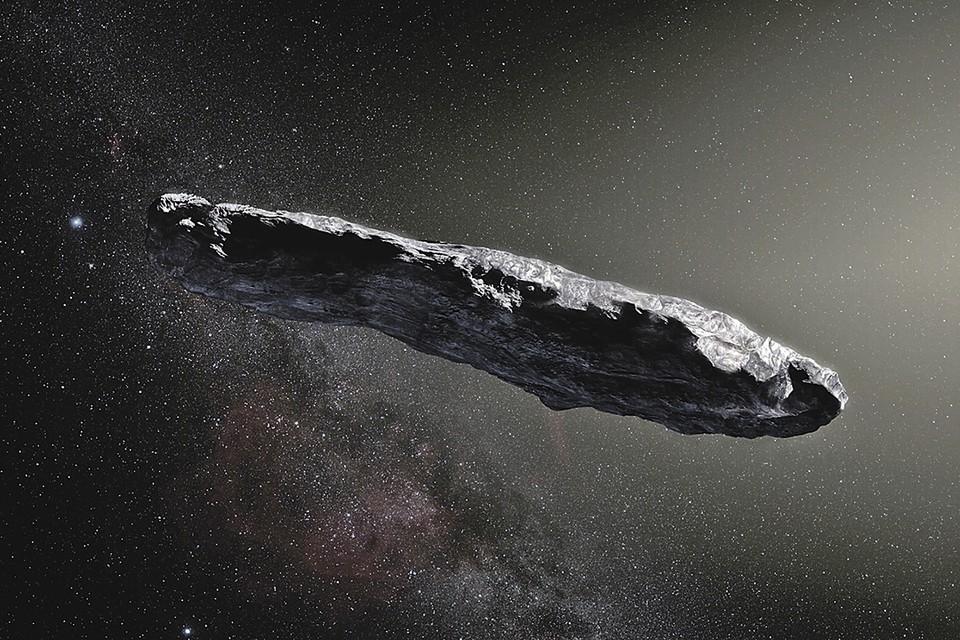 Астероид Оумуамуа. Фото: NASA