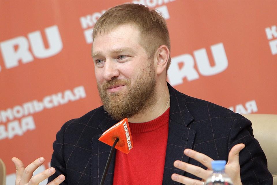 Журналист Александр Малькевич.