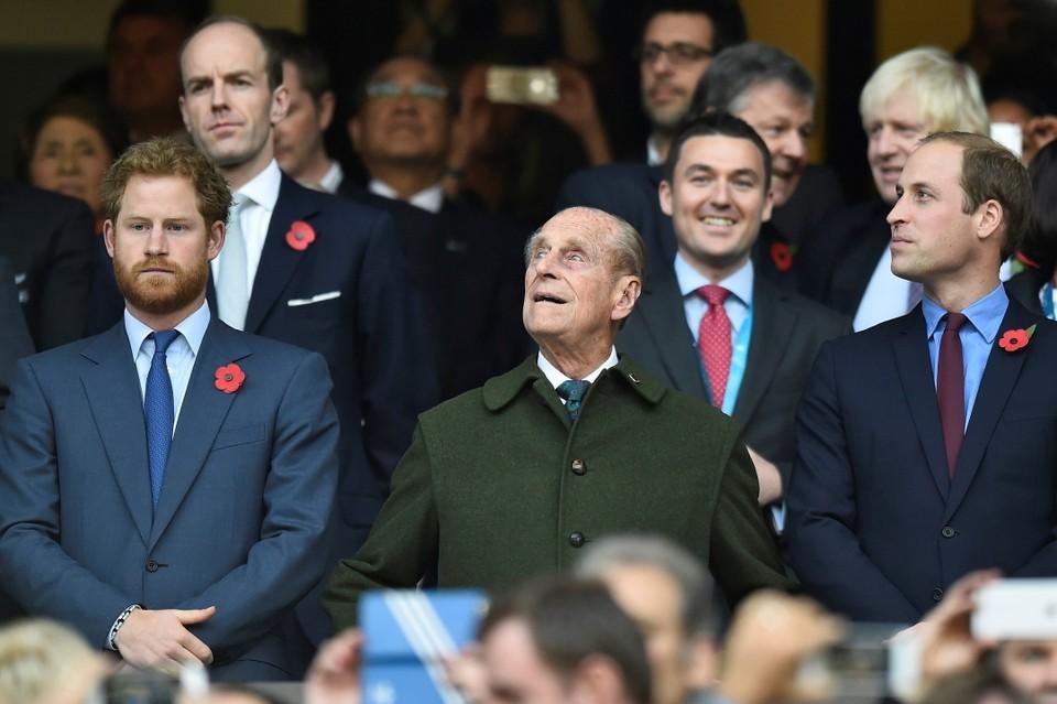 Во время прощания с принцем Филиппом принцы Гарри и Уильям не будут идти рядом