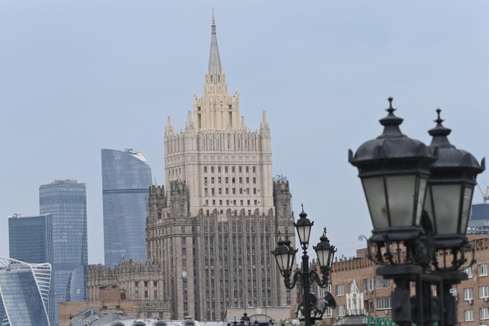 В МИД РФ объявили, что двух сотрудников посольства Болгарии в Москве объявили персонами нон-грата