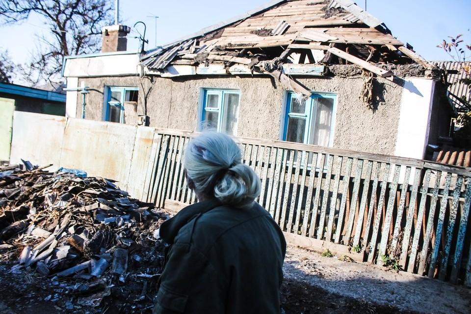 В ДНР продолжают оценивать причиненный Украиной ущерб