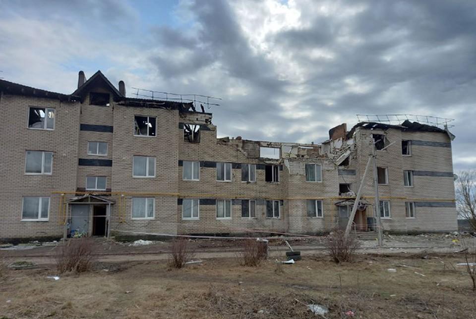 Поврежденный взрывом газа дом в Нижегородской области снесут.